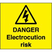 Warn144 - Danger Electrocution